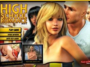 High School Romance gioco di sesso con +18 studenti