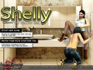 Shelly the Escort Girl prostituta gratis gioco di sesso